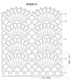 Image Article – Page 673710425478928847 Crochet Shell Stitch, Crochet Motif, Crochet Doilies, Crochet Lace, Crochet Shawl, Crochet Stitches Patterns, Crochet Designs, Stitch Patterns, Crochet Curtains