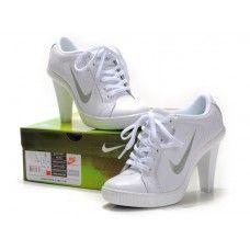 Femme Nike Air Max Heels Blanc Nike High Heels c9f857bc30
