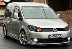 Vw Caddy Tuning, Caddy Van, Van Racking, Volkswagen Touran, Dream Garage, Dream Cars, Vans, Vehicles, Truck