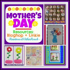 Mothers Day RoundUP of Resources: Bloghop + LInkie at RainbowsWithinReach