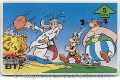- BT Phonecard - Asterix - Brewing of the Magic Potion Photo Scan, Telephone, Brewing, Disney Characters, Fictional Characters, Sci Fi, Fantasy, Comics, Cards