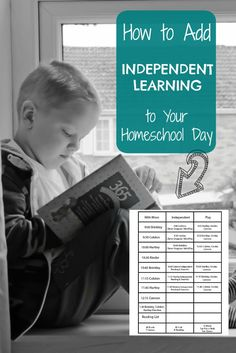 How to Add Independent Learning to Your Homeschool Day