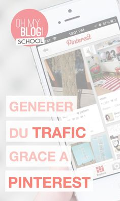 """Blogschool.fr : dossier spécial Pinterest ! Au programme : 3 vidéos pour devenir les reines de Pinterest ! Pour voir la vidéo """"Générer du trafic sur son blog grâce à Pinterest"""", rendez-vous sur la Blogschool !"""
