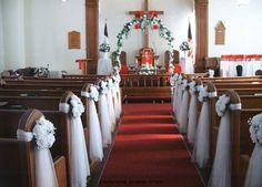 -Church wedding decorations |