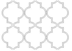 Wall Stencil Casablanca Reusable Stencils For Diy Decor