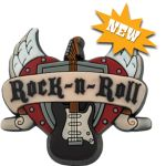 The pedometer for Rock-N-Roll lovers!