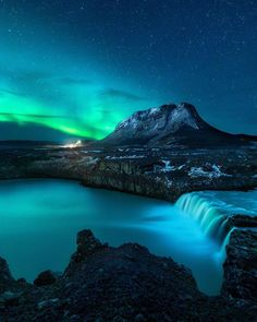 Mikkel Beiter Captures Majestic Northern Lights in Iceland - The Effective Pictures We Offer You About Aurora borealis northern lights tattoo A quality pic Iceland Landscape, Urban Landscape, Beautiful Landscape Photography, Beautiful Landscapes, Aurora Borealis, 4k Photography, Les Cascades, Stormy Night, Photos Voyages