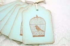 birdcage tags