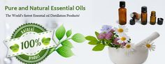 Pure and natural Essential Oils
