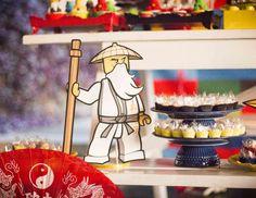 "Lego NinjaGo / Birthday ""Antônio turns 8 in the Lego's World"" | Catch My Party"
