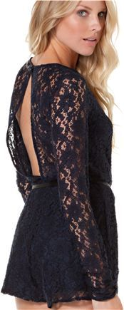lace romper... love this!