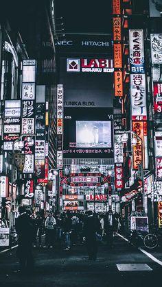Tokyo city night lights widescreen desktop mobile iphone android hd wallpaper and desktop. Japon Tokyo, Neo Tokyo, Tokyo City, Tokyo Streets, Shinjuku Tokyo, Aesthetic Japan, Night Aesthetic, City Aesthetic, Japanese Aesthetic