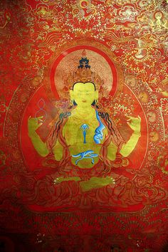 Thanka of Buddha, Tibet