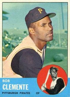 1963 Topps Clemente