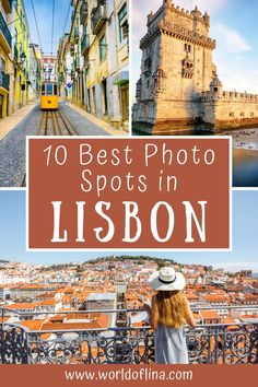 You are looking for the best photo spots in Lisbon, Portugal? Here are the best places to get the perfect pictures from one of Europe's most photogenic cities! #lisbon #portugal #photography #europe | instagrammable places in Lisbon Portugal Destinations, Portugal Travel Guide, Europe Travel Guide, Amazing Destinations, Travel Guides, Travel Destinations, Visit Portugal, Spain And Portugal, Lisbon Portugal
