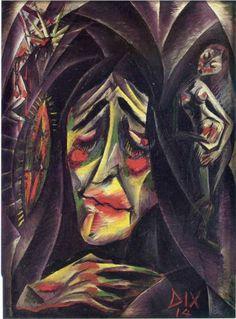 The Nun - Otto Dix