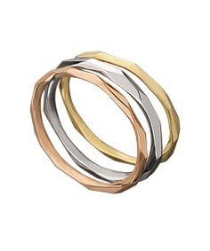Ron Hami Carved Stacker Ring- same designer as my engagement and wedding ring...