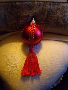 Christmas Balls. Easy tutorial.