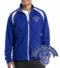 Sigma Tau Gamma Track Jacket, yes please
