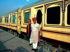 Rajasthan's Palace on Wheels luxury train is India's answer to the Orient Express: modelled on the luxurious railway cars of old with richly decorated interiors.