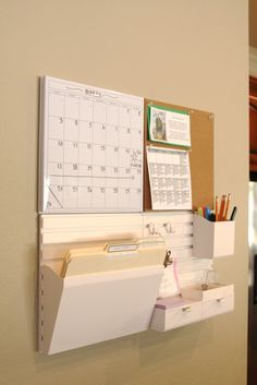 simply organized: martha stewart wall manager review + a giveaway!