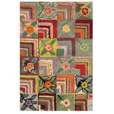Gypsy Rose Woollen Rug l Eco Chicl Rugs l Fair Trade Rugs Online