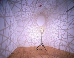 Five fold sphere projection lamp by Olafur Eliasson
