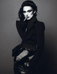Keira Knightley Photography MARCUS PIGGOTT, MERT ALAS Stylist KARL TEMPLER