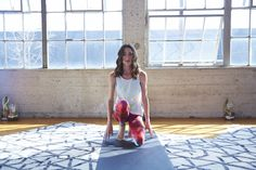 The softer side of strong. Tara Stiles' Reebok yoga collection features print leggings and comfy tanks.