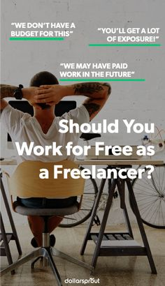 As a Freelancer what should you be getting paid? Check out this article on how freelancers should be paid.