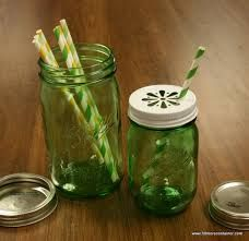 st. patrick's day mason jar - Green jars, Green Straws and Specialty Lids available at Fillmore Container.com