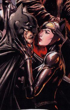 Batman and Catwoman by Jason Fabok