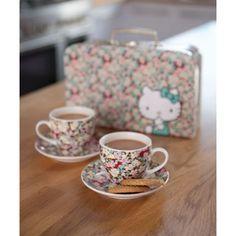 Hello Kitty Liberty of London Tea Set.