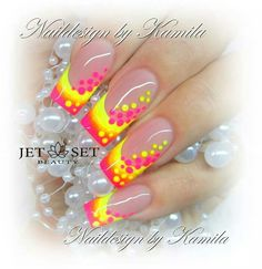 Bright nail designs simple