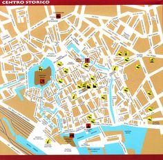Livorno Tourist Map - Livorno Italy • mappery