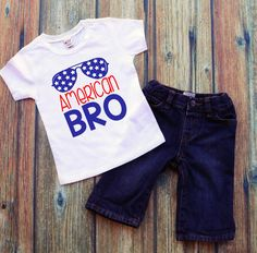 of July boys shirt- American Bro- of july dude- of July shirt for boys- fourth of july baby shirt- Trendy boys t shirts- America by DaliceDesigns on Etsy Fourth Of July Shirts For Kids, 4th Of July Outfits, Boy Outfits, School Outfits, Birthday Boy Shirts, Boy Birthday, Summer Birthday, Baby Shirts, Boys T Shirts