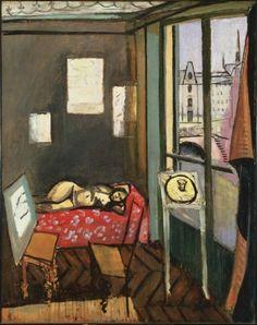laflaneuse8:    Henri Matisse: Studio, Quai Saint-Michel (1916)