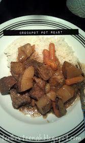 teenah's projects: Recipe Wednesday: Crockpot Pot Roast