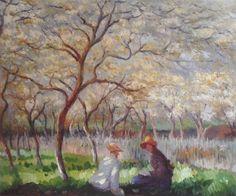 Monet - Springtime