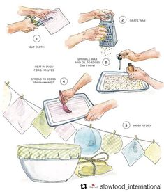 Low waste diy Beeswax DIY: making beeswax wraps how to render your own wax - Milkwood