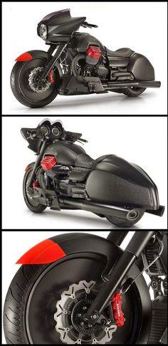 Blog Serius: Serius Cool - Moto Guzzi MGX-21 Prototype (9 Gambar)