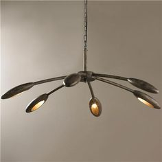 Modern Squid Chandelier// This is a bit big, but conceptually?
