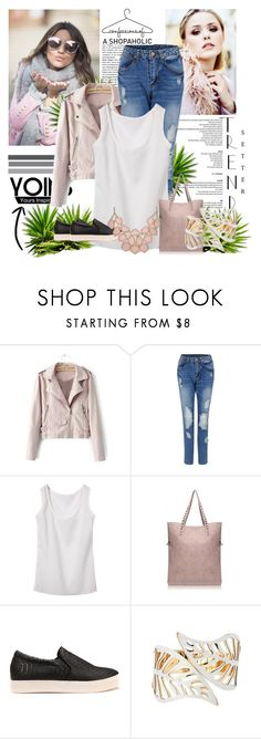 """Yoins 23"" by fashion-addict35 ❤ liked on Polyvore featuring women's clothing, women, female, woman, misses and juniors"