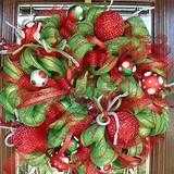 wreaths using mesh ribbon - Yahoo Image Search Results