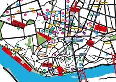 Use-it Mapa Porto Free Maps, Cartography, Travel, Porto, Viajes, Destinations, Traveling, Trips