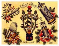 Resultado de imagem para tattoo old school design