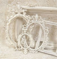 Shabby Chic Picture Frames Ornate Frame by MountainCoveAntiques, $78.00