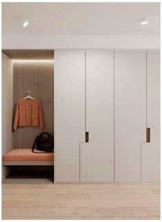 Interior Home Design Trends For 2020 - New ideas Wardrobe Interior Design, Wardrobe Door Designs, Wardrobe Design Bedroom, Home Interior Design, Hallway Furniture, Bedroom Furniture Design, Home Room Design, Living Room Designs, Home Entrance Decor
