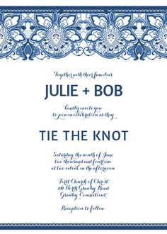 lace invitation template for burlap and lace weddings for customizations