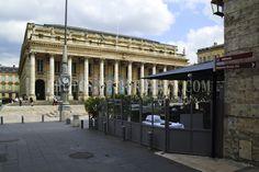 Grand-Théâtre et Grand-Hôtel à Bordeaux Monuments, Bordeaux, Street View, Poster, Photo Galleries, Profile, Bordeaux Wine, Billboard